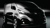 2014 Renault Trafic design sketch
