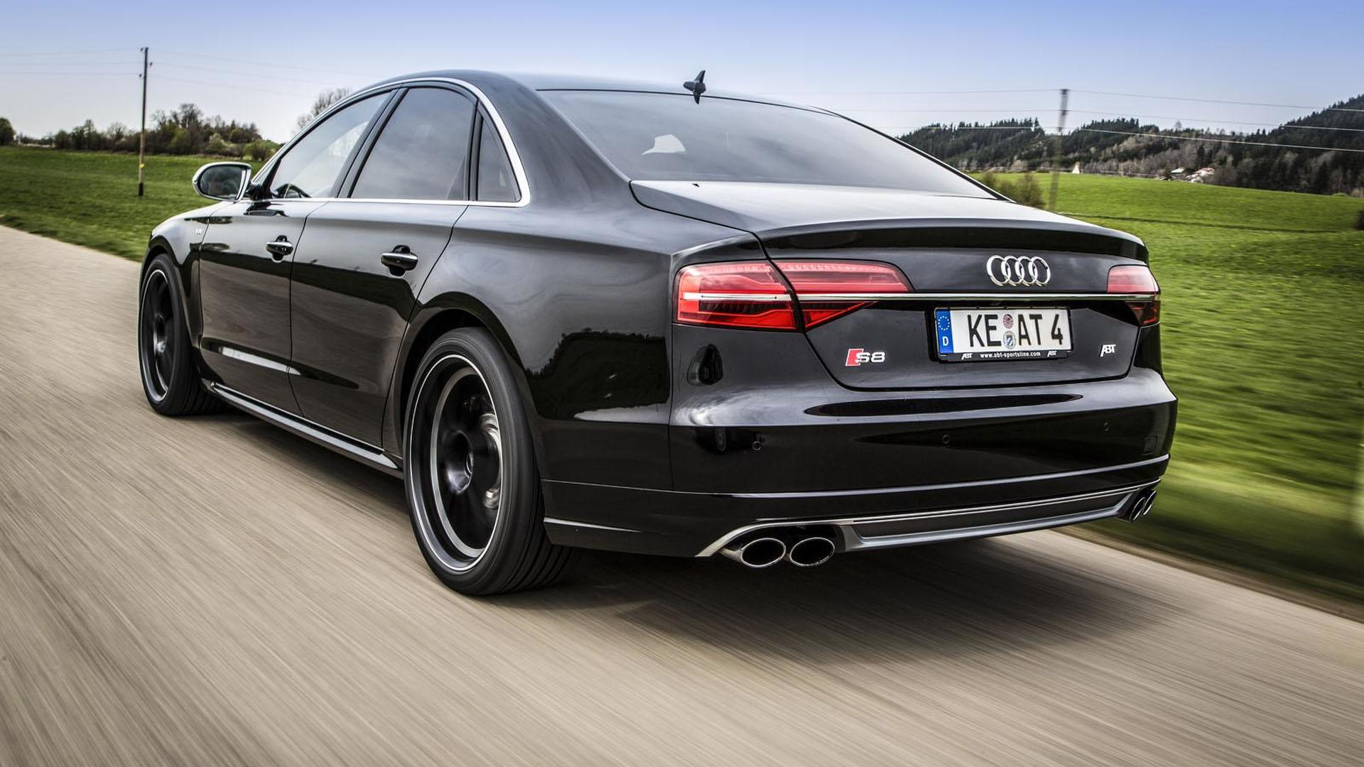 Быстрый седан Audi S8. Тюнинг от ABT Sportsline