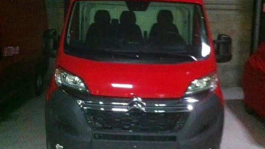 2014 Citroen Jumper facelifted spied undisguised