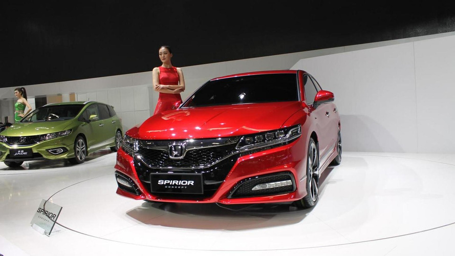 Honda Spirior concept unveiled, previews the next-generation model