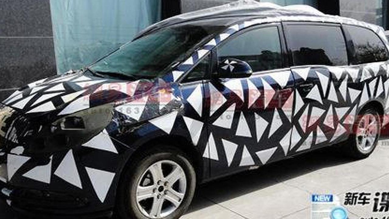 2011 Buick GL8 Minivan - click image for more photos