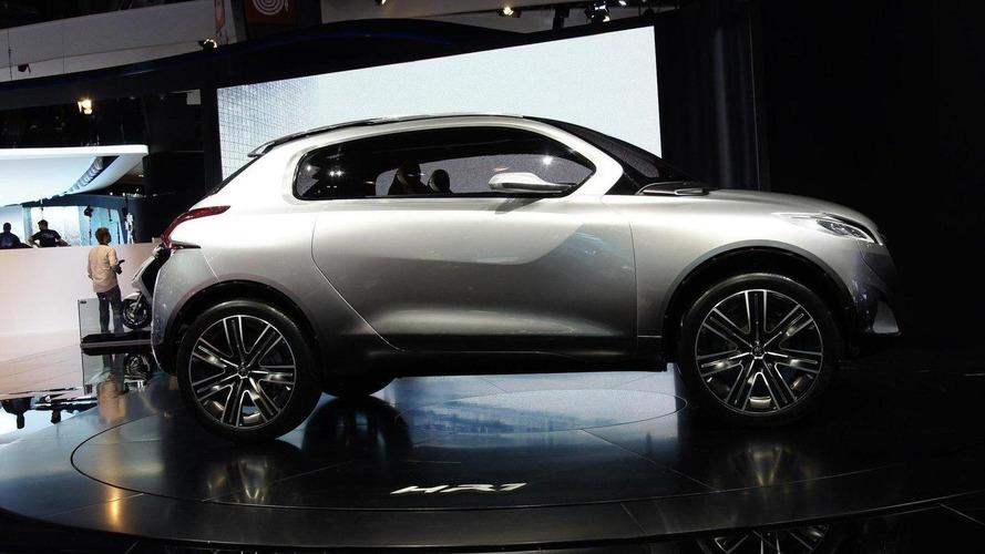 Peugeot HR1 Concept bows in Paris