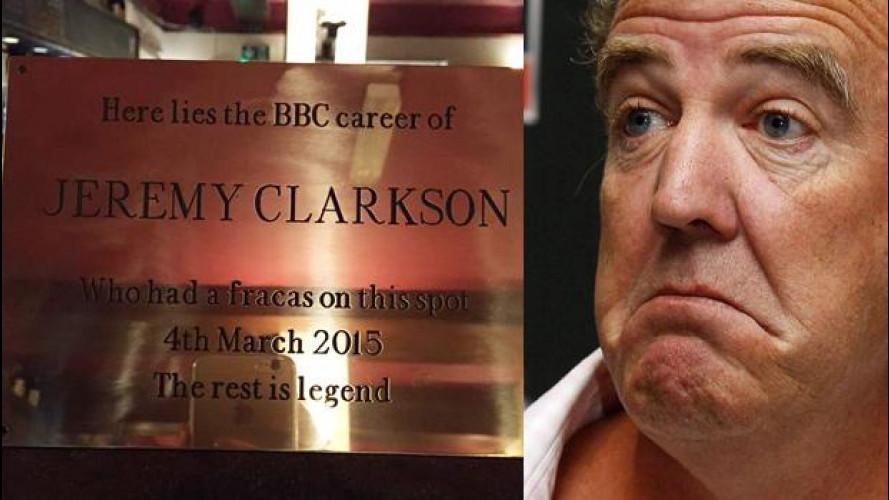 Jeremy Clarkson, il suo pugno entra nella leggenda inglese