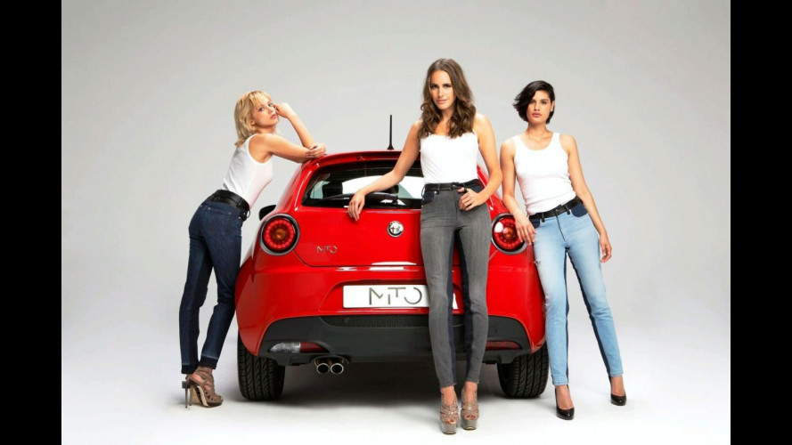 Alfa Romeo MiTo si trasforma in jeans