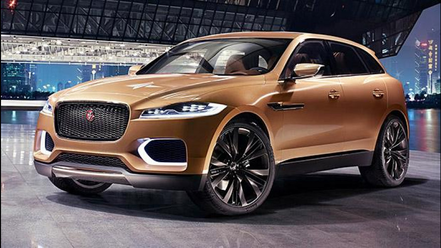 Jaguar F-Pace, il nome del crossover sportivo [VIDEO]