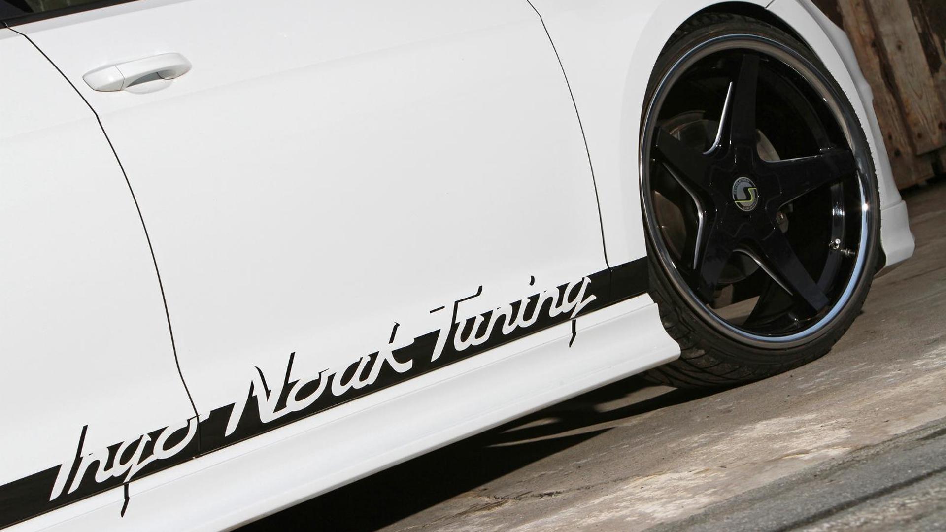 Чёрные колеса VW Golf VII 1.4 TSI от Ingo Noak Tuning