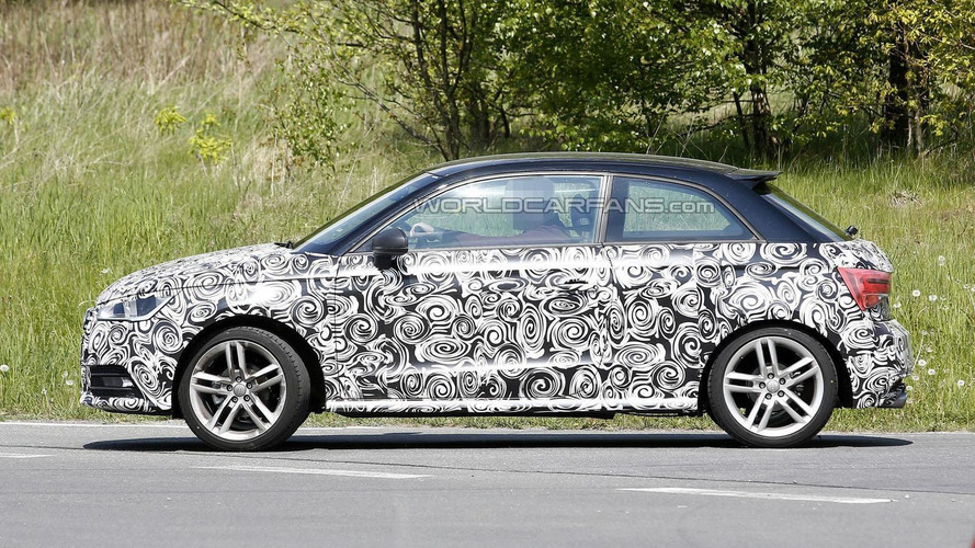 2015 Audi A1 & A1 Sportback spied with minor changes