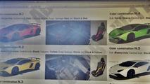 Lamborghini Aventador SuperVeloce brochure screenshot