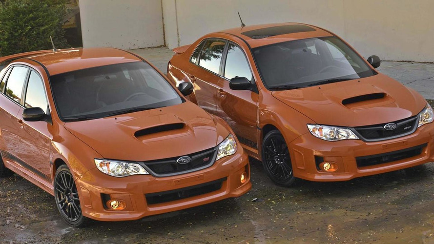 2014 Subaru WRX and WRX STI pricing announced (US)