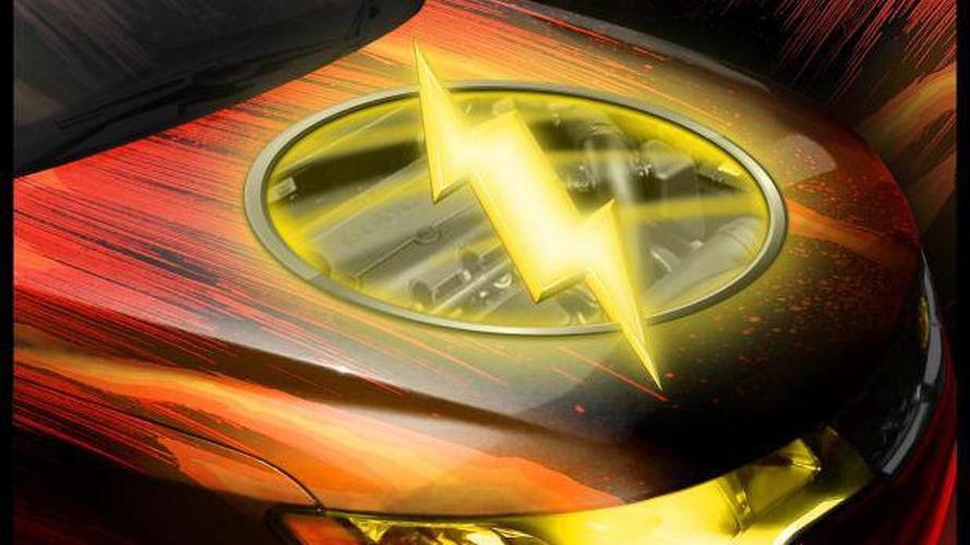 Flash-themed Kia Forte Coupe teased for SEMA