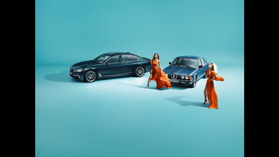BMW Serie 7 Edition 40 Jahre, quarant'anni di lusso e tecnologia