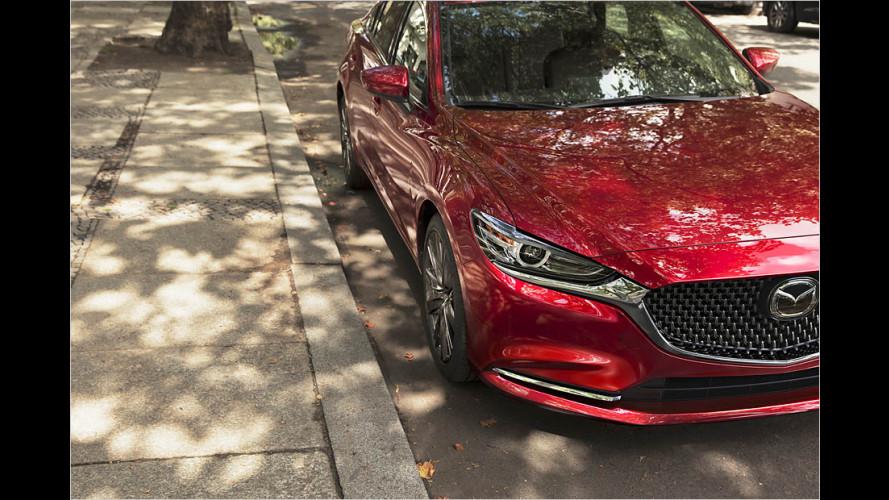 Mazda 6: Erneutes Facelift für 2018