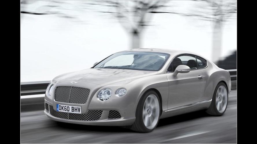 Zwei neue Motoren: Der neue Bentley Continental GT
