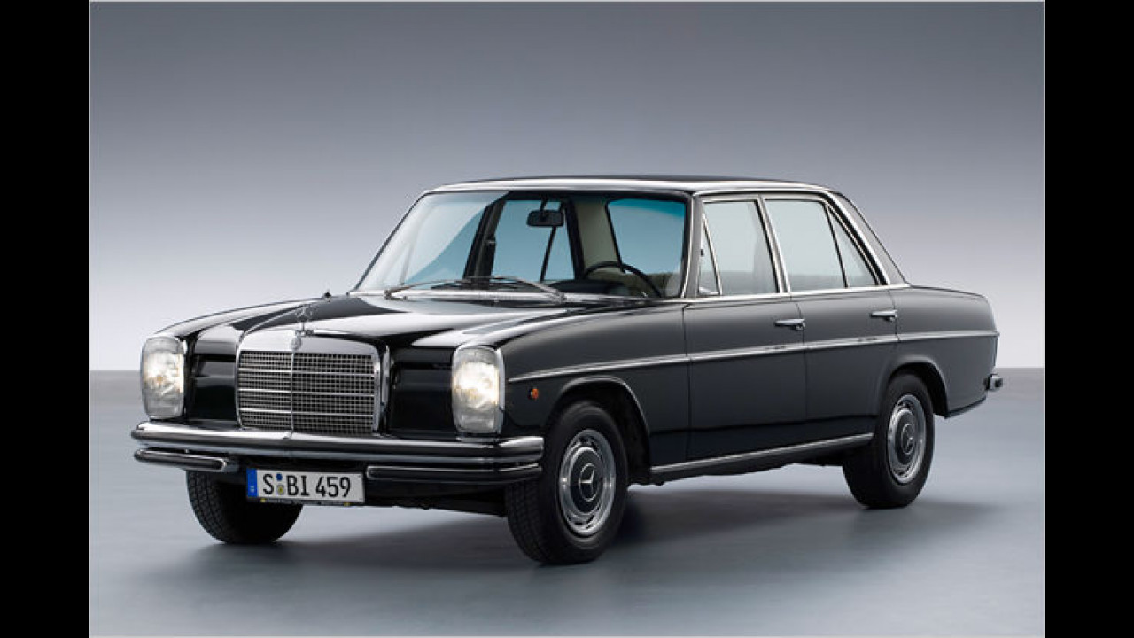 40 Jahre Mercedes Strich-Acht