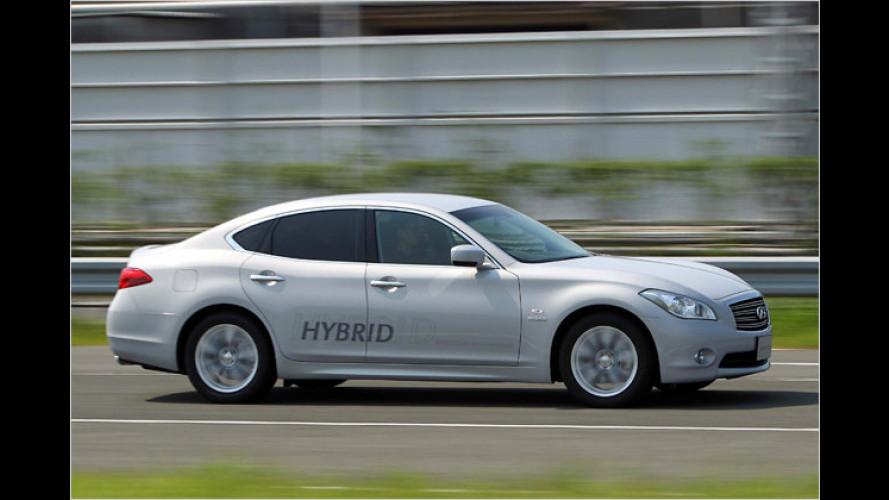 Infiniti M35 hybrid: Vorreiter für künftige Hybridautos