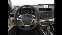 Novo Ford Escort já aparece nas ruas chinesas. Seria uma boa por aqui?