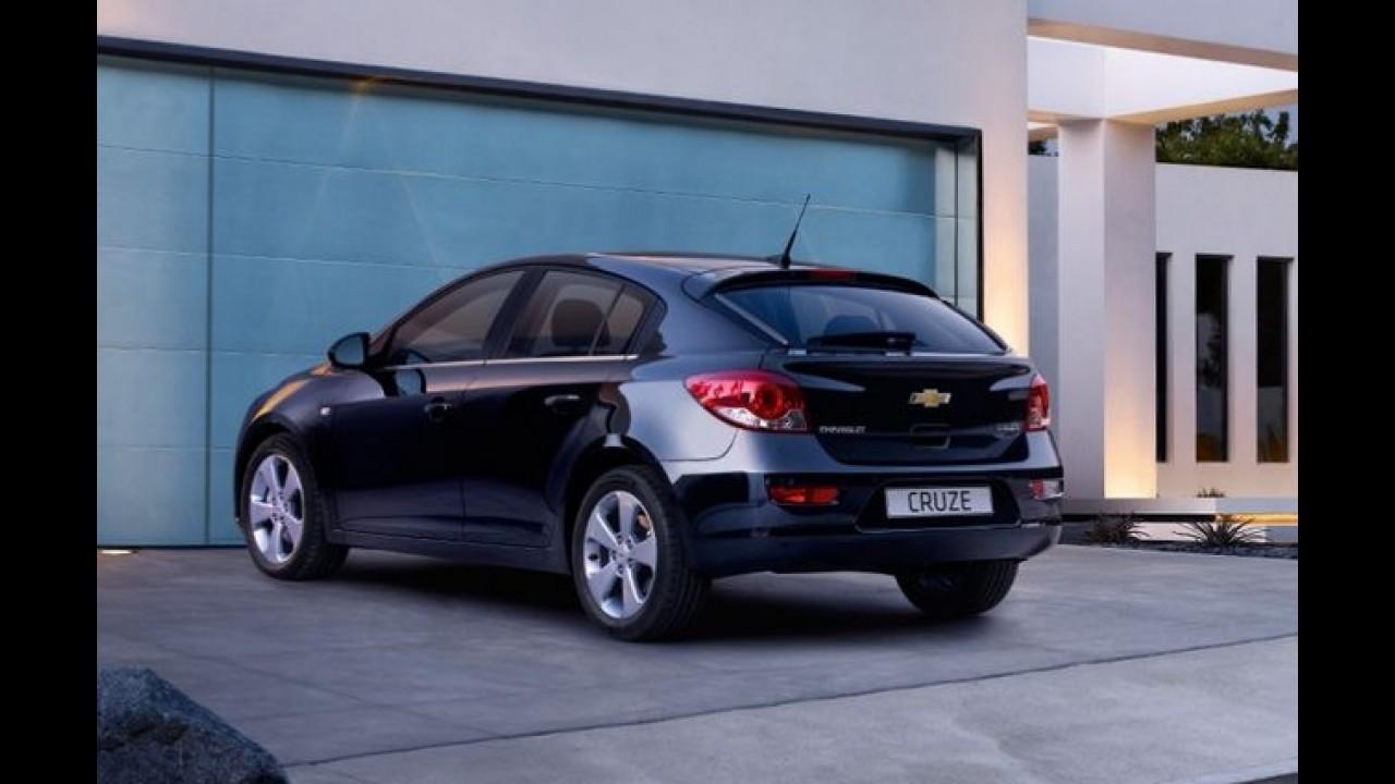 Chevrolet Cruze ganha novo motor diesel 1.7 VCDi na Europa - Consumo é de 22,2 km/l