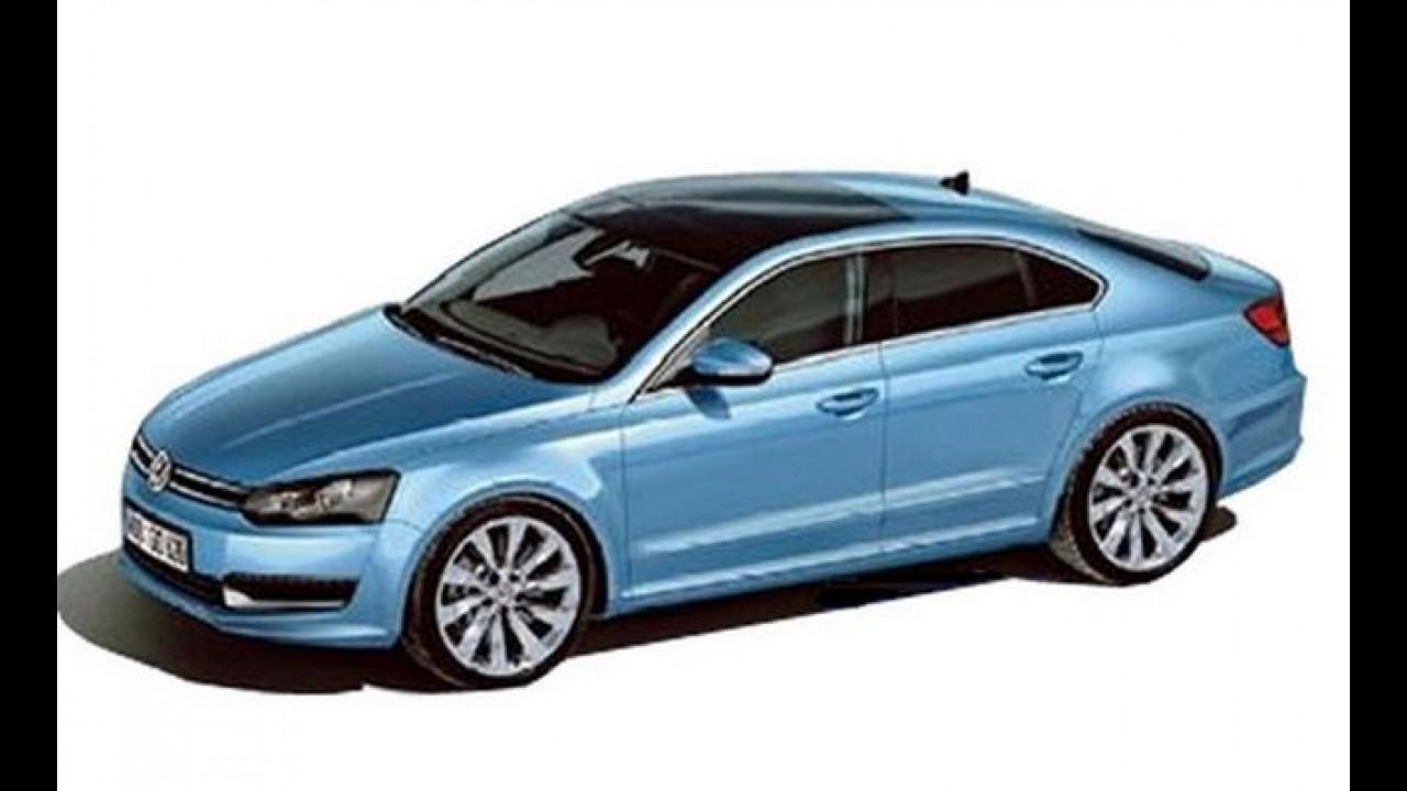 Volkswagen vai lançar mais um modelo na China - Mini Passat CC pode estar a caminho