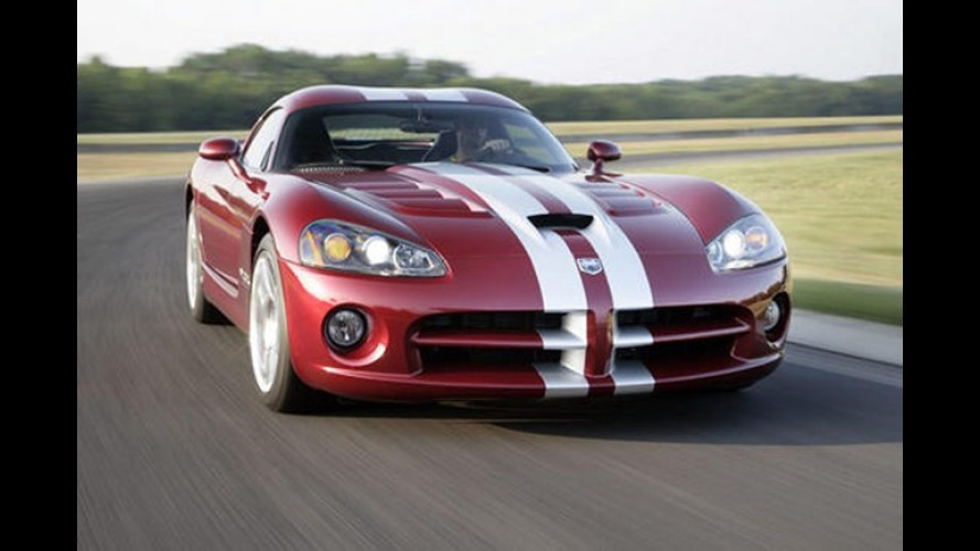 Viper 2013 vai inaugurar marca independente SRT