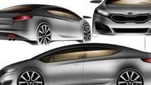 2013 Kia Forte leaked design sketch, 600, 15.12.2011