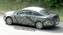 SPY PHOTOS: New Opel Vectra