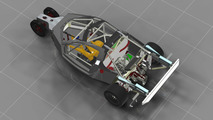 Proposed DeltaWing GT car