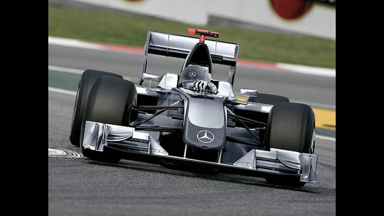 Mercedes compra a Brawn GP e cria a nova escuderia Mercedes-Benz GP