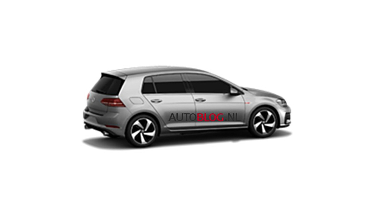 2018 golf gti facelift leaked golfmk7 vw gti mkvii. Black Bedroom Furniture Sets. Home Design Ideas
