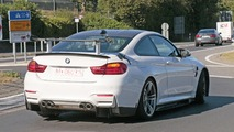 BMW M4 prototype spy photo