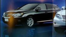 La nuova Lexus RX si svela in rete