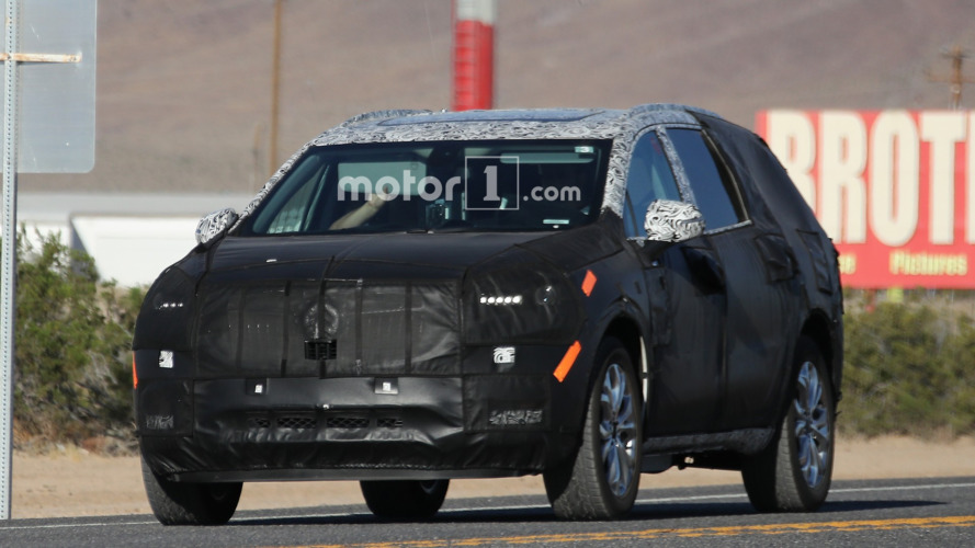 2018 Buick Enclave spy photos