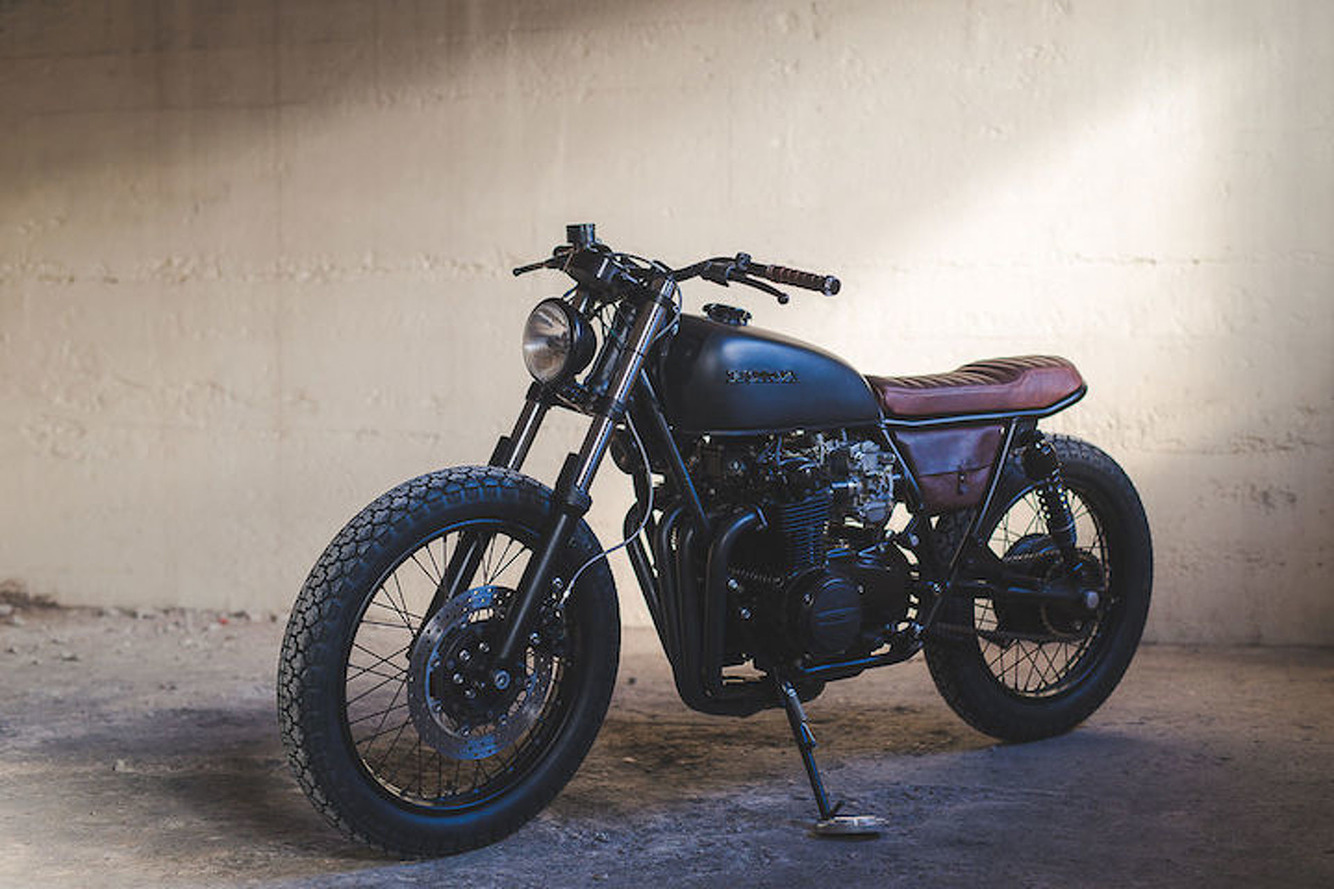 Retro Honda Motorcycles Don't Get Much Prettier Than This
