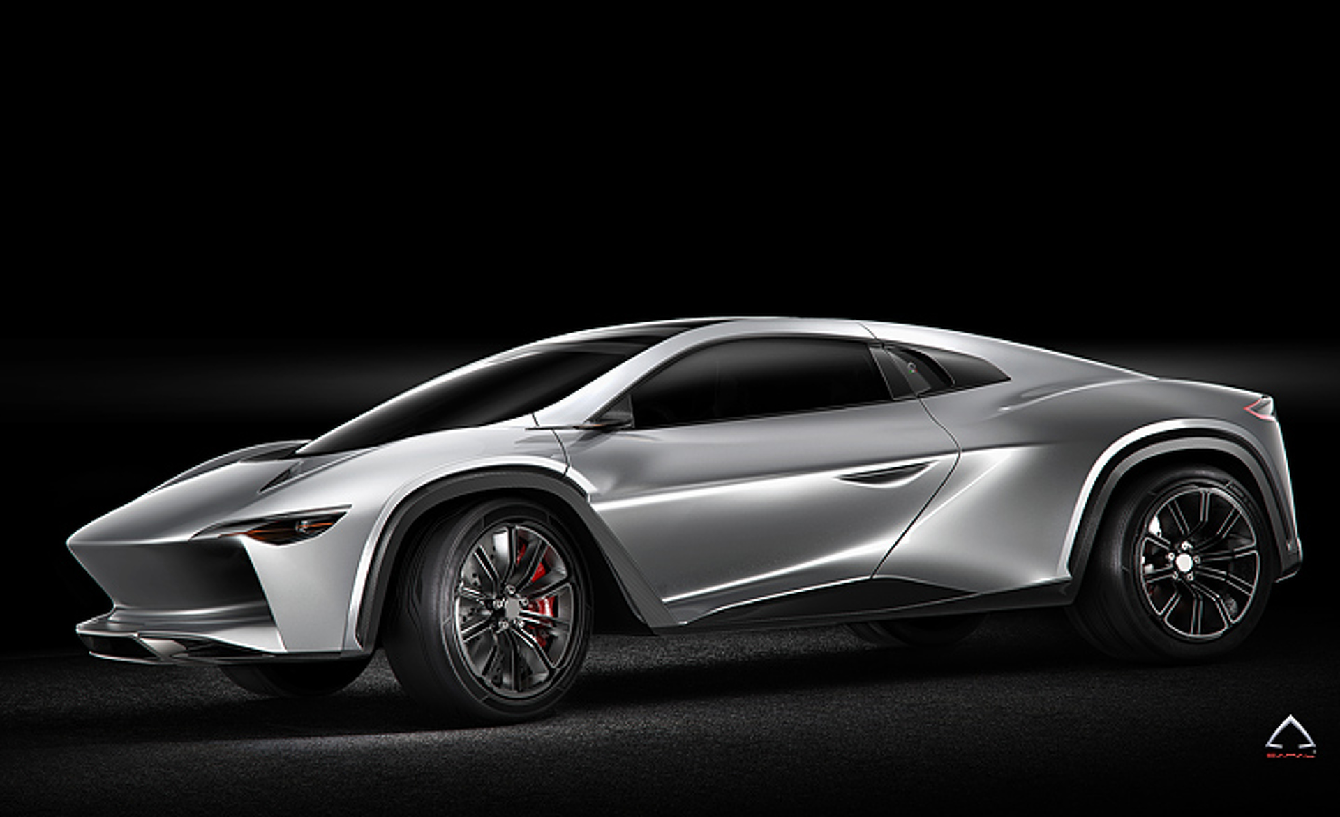 This HyperSUV Concept Wields the Heart of a Bugatti
