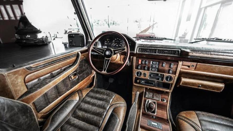 1990 Mercedes Benz G Class Receives Vintage Theme From Carlex Design