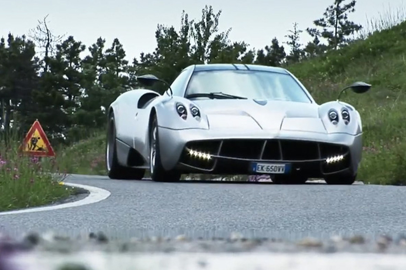 Video: EVOs Exclusive Review of the All New Pagani Huayra