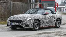 2019 BMW Z4 spied with less camo