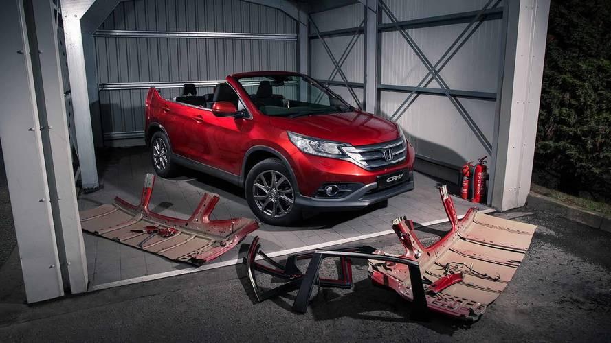 Honda apresenta CR-V sem teto como conceito