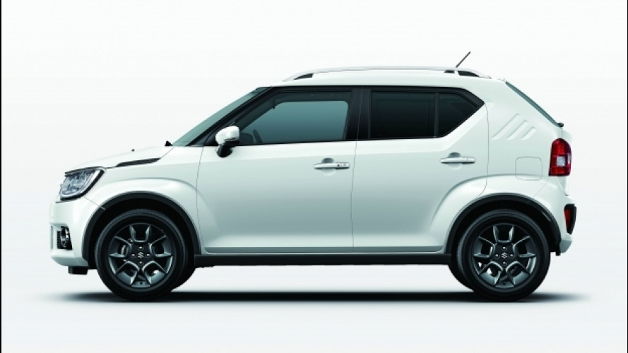 Nuova Suzuki Ignis, debutto europeo a Parigi
