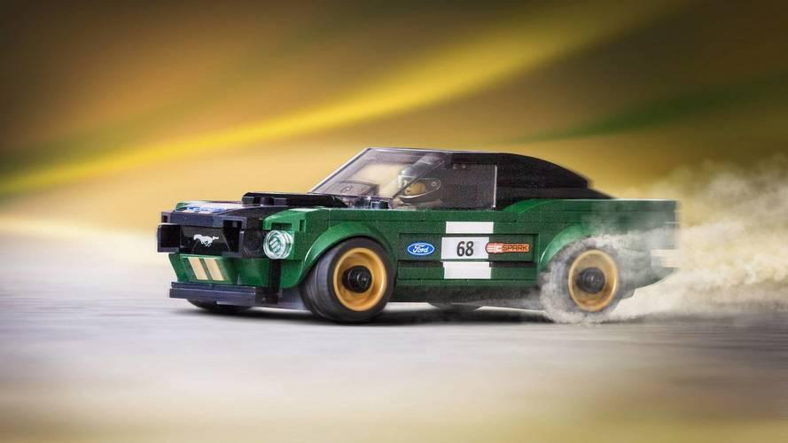Ford présente la Mustang de 1968 en version Lego