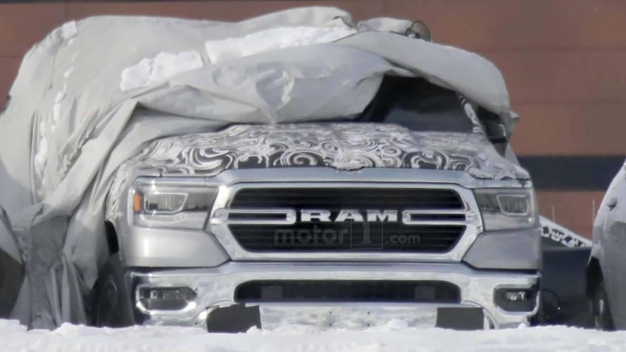 2019 Ram 1500 Spy Photos