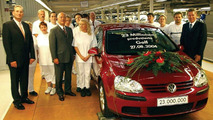23 Millionth VW Golf Leaves Assembly Line