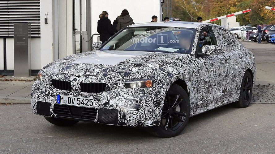 Photos espion - La nouvelle BMW Série 3 2018 surprise en cours d'essais
