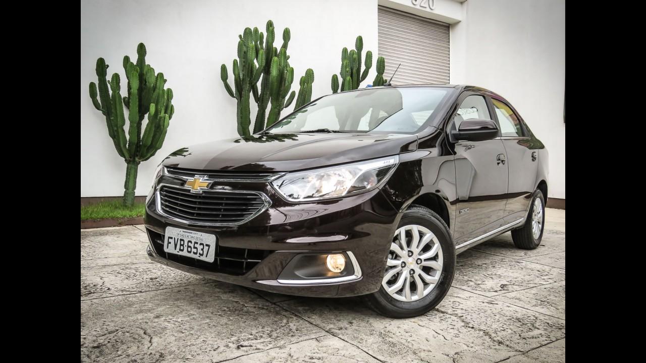 Chevrolet Cobalt ganha conectividade com Android Auto