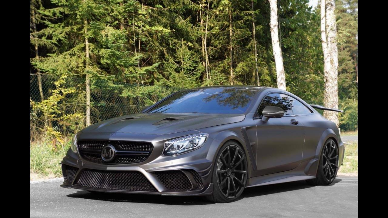 Insano! Este Mercedes S63 AMG Coupé tem 1.000 cv