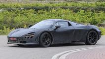 2018 McLaren P14 spy photo