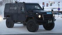 Mercedes G Class Light Armored Patrol Vehicle spy photo