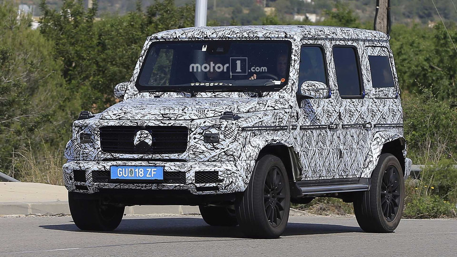 2018 Mercedes G-Class Spied Looking A Lot Like Its 1979 Ancestor