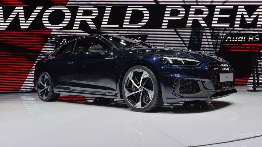 Novo Audi RS5 de 456 cv estreia em Genebra - Veja fotos