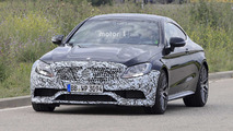 Mercedes-AMG C63 Coupe facelift spy photo
