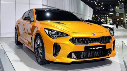 2018 Kia Stinger ли 0-62 миль в час за 4,9 секунды